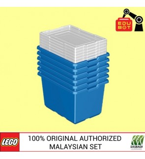 LEGO Education Storage Solution (6 storages + lids) 9840