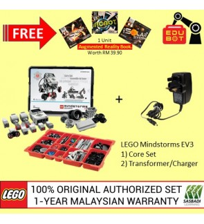 LEGO MINDSTORMS EV3 CORE SET 45544 + CHARGER 45517- Basic Package